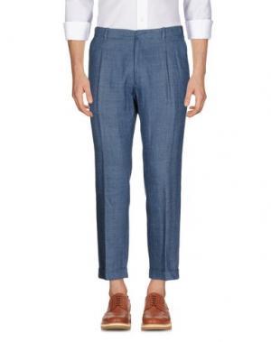 Повседневные брюки FUTURO. Цвет: грифельно-синий