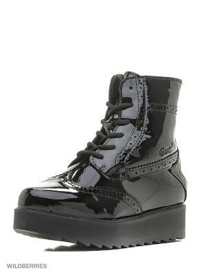 Ботинки GUT. Цвет: черный