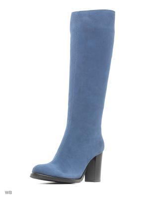 Сапоги La Gatta. Цвет: голубой