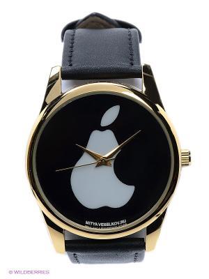 Часы Mitya Veselkov. Цвет: черный, золотистый