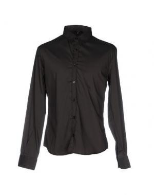Pубашка C'N'C' COSTUME NATIONAL. Цвет: темно-коричневый