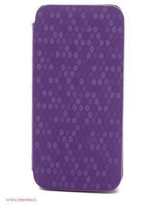 Чехол для Iphone 5/5s WB. Цвет: фиолетовый, черный