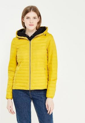 Куртка утепленная Piazza Italia. Цвет: желтый