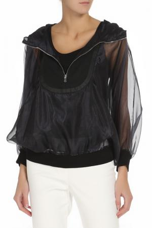Куртка PHILOSOPHY. Цвет: черный, темно-синий