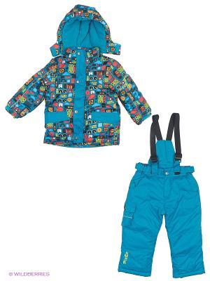 Комплект одежды PicCo. Цвет: зеленый