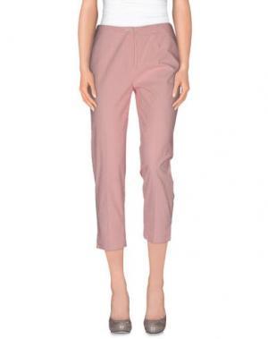 Повседневные брюки METRADAMO. Цвет: лососево-розовый