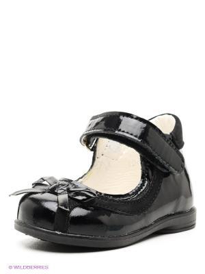 Туфли Детский скороход. Цвет: черный