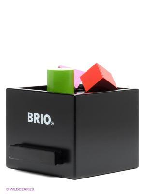 Игрушка Сортер с кубиками BRIO. Цвет: черный, белый