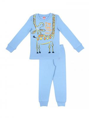 Пижама для мальчика Cherubino. Цвет: голубой
