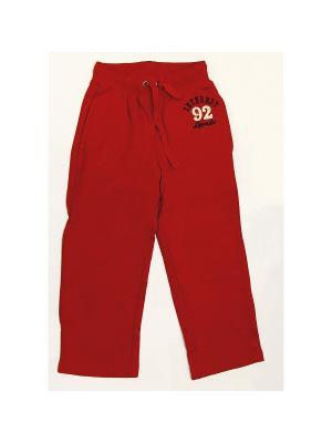 Спортивные брюки LOVEDO. Цвет: красный
