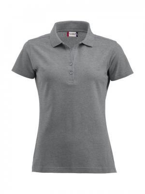 Clique Alba женская футболка-поло. Цвет: серый