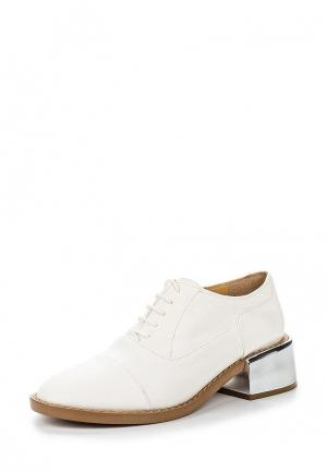 Ботинки MM6 Maison Margiela. Цвет: белый