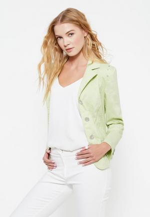 Куртка Wega. Цвет: зеленый