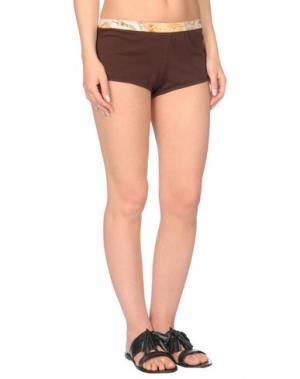Пляжные брюки и шорты ALVIERO MARTINI 1a CLASSE BEACHSTYLE. Цвет: темно-коричневый