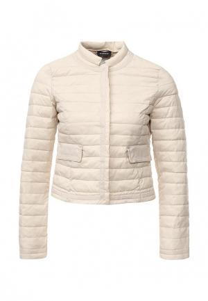 Куртка утепленная Motivi. Цвет: бежевый