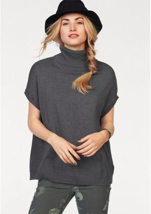 Пуловер AJC. Цвет: бордовый, серый меланжевый, хаки