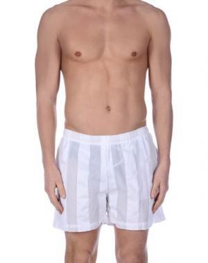 Пляжные брюки и шорты COTTWEILER. Цвет: белый