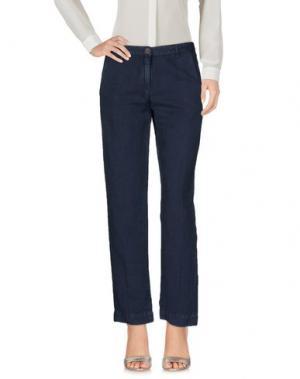 Повседневные брюки MASSIMO ALBA. Цвет: темно-синий