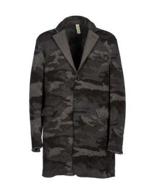 Легкое пальто J.W. TABACCHI. Цвет: свинцово-серый