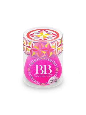 Спонж для макияжа цвета фуксии Beauty Bar. Цвет: фуксия