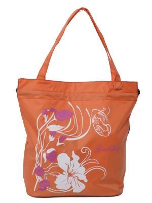 Сумка пляжная GOOD BAG. Цвет: оранжевый