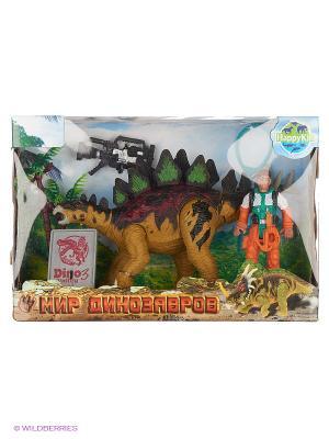 Набор динозавров Happy Kin. Цвет: желтый
