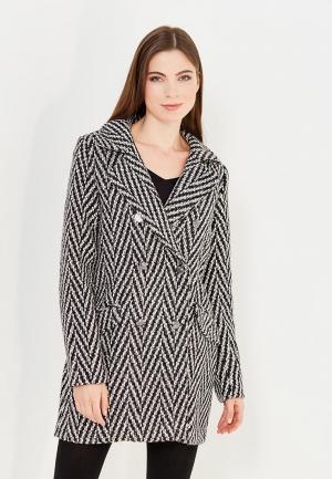Пальто Vero Moda. Цвет: черно-белый