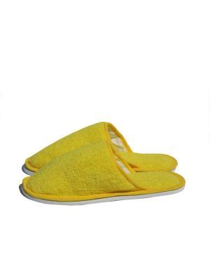 Тапочки TAP MODA. Цвет: желтый