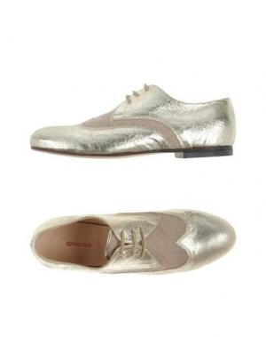 Обувь на шнурках ROSAMUNDA. Цвет: золотистый