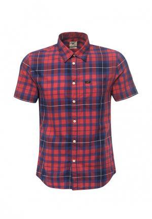 Рубашка Lee. Цвет: красный