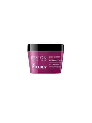 Ежедневный уход для нормальных/густых волос. C.R.E.A.M. маска RP BE FABULOUS 200 мл Revlon Professional. Цвет: фуксия