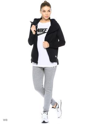 Толстовка W NSW MODERN CAPE Nike. Цвет: черный