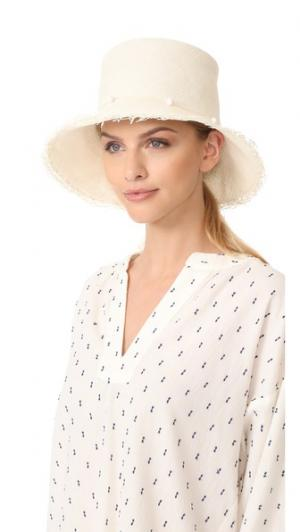 Шляпа Playa с бахромой Artesano. Цвет: белый