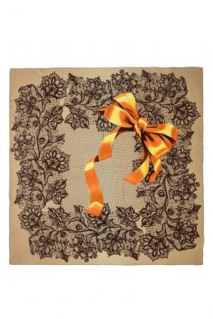 Платок из шерсти 183422 Moltini. Цвет: разноцветный