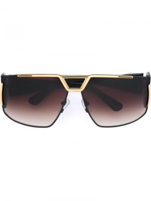 Солнцезащитные очки Heat Devil Frency & Mercury. Цвет: чёрный