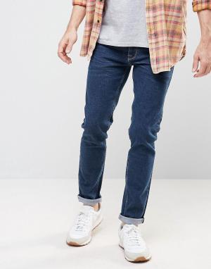 ASOS Темно-синие джинсы скинни. Цвет: синий