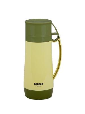 Термос Bekker. Цвет: желтый