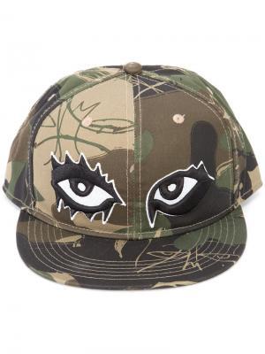 Камуфляжная кепка Haculla. Цвет: зелёный