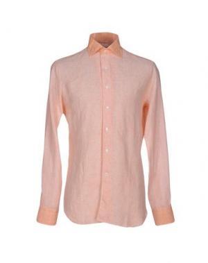 Pубашка ALESSANDRO GHERARDI. Цвет: абрикосовый