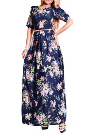 Платье FRANCESCA LUCINI. Цвет: фрезия