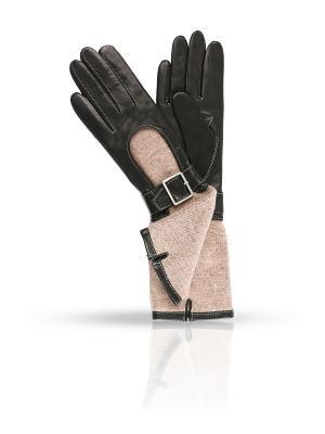 Перчатки Dali Exclusive. Цвет: черный, бежевый
