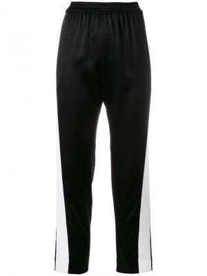 Укороченные трикотажные брюки Gianluca Capannolo. Цвет: чёрный