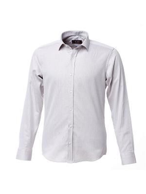 Рубашка BIRIZ. Цвет: светло-серый, белый