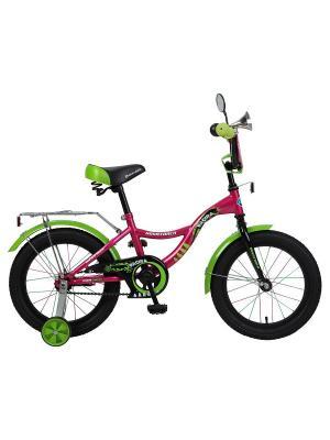 Велосипед 16 S Багира NOVATRACK. Цвет: розовый
