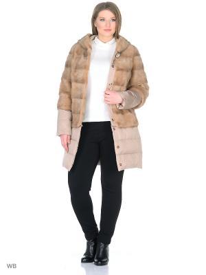 Куртка PRIMA WOMAN. Цвет: бежевый