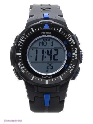 Часы Pro Trek PRG-300-1A2 CASIO. Цвет: черный