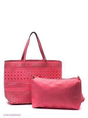 Сумка Mario Ponti. Цвет: розовый