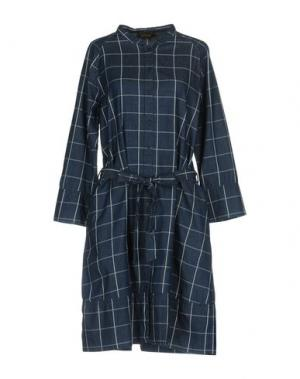 Платье до колена LE MONT ST MICHEL. Цвет: синий