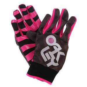 Перчатки сноубордические  Sadplant Glove Fuchsia Oakley. Цвет: розовый