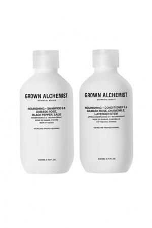 Набор для волос питательный 0.6 Nourishing (Питательный шампунь, 200 ml + кондиционер, ml) Grown Alchemist. Цвет: без цвета